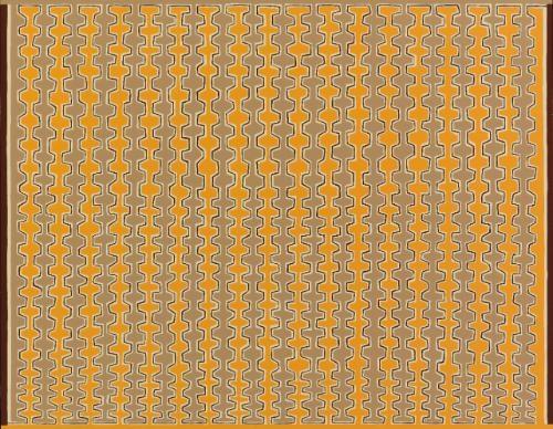 recursive combs, boustrophedonic by james siena