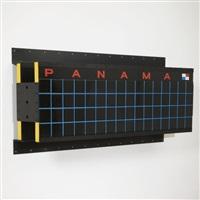 wall wall sportif #2 (panama) by ashley bickerton