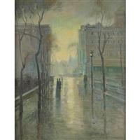 rainy day by paul cornoyer