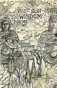 the sun is my wisdom (cover design) by stephen tennant