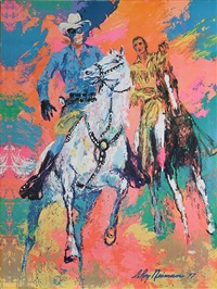 the lone ranger by leroy neiman