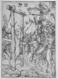 the martyrdom of the twelve apostles (12 works) by lucas cranach the elder
