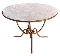 table de salon ronde by rené drouet