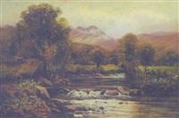 on the river llugwy by john gunson atkinson