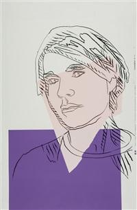self-portrait by andy warhol