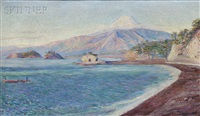 fuji from lava beach by lilla cabot perry