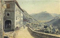 gebirgsdorf im tessin by william moritz
