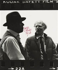 untitled, pl. 2 (from photo-edition) by joseph beuys and andy warhol