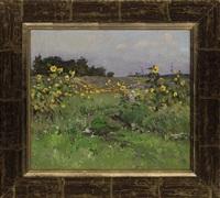 strolling through the fields by victor ivanovich koshevoi