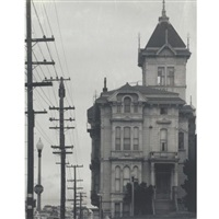 william westerfeld house, san francisco (+ high-rise building; 2 works) by pirkle jones