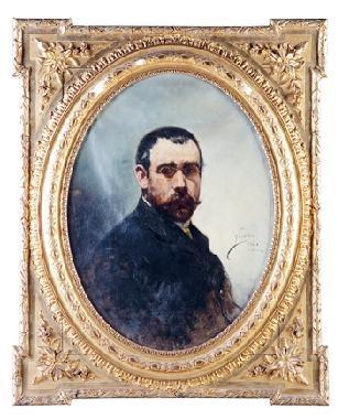 retrato de don jose maria llorca by joaquin sorolla y bastida