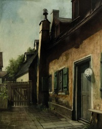 altschwabing, bauernhof meier, ecke occam-hesseloherstraße by hein konig