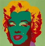 marilyn (set of 10) by andy warhol