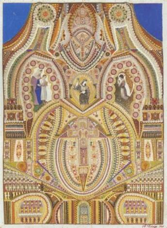 scène religieuse by augustin lesage