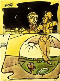 notte e giorno by valerio adami