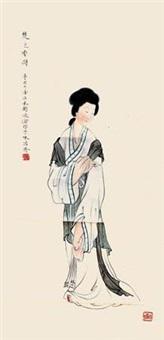 楚莲香图 by liu lingcang