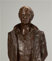 bronze sculpture of the patriot nathan hale by anonymous (19)
