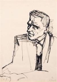a. wigand (portrait albert wigand) by joachim heuer