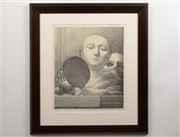 the mirror by george tooker