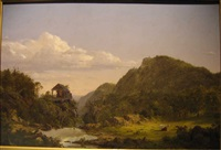 the old mill by frederic edwin church