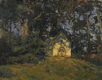 waldkapelle by carl jutz the younger