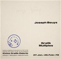grafik multiples by joseph beuys