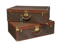 alzer anglais suitcases (2 works) by louis vuitton