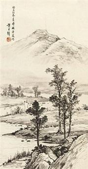 春山一景 by huang junbi