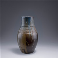 große vase by eugène lion