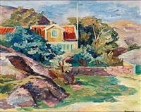 hus i bergsglänta, västkusten by birger simonsson