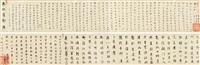 临古二种并行书《赤壁怀古》 by dong qichang