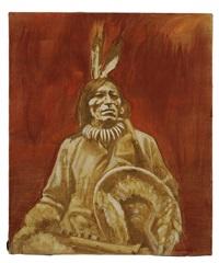 american indian by john nieto