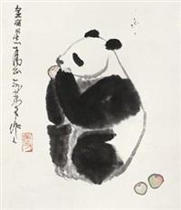 熊猫 by wu zuoren