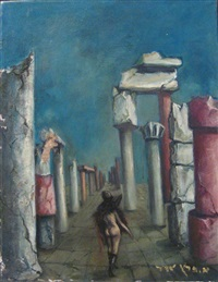 nude between the ruins by esther peretz arad