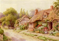 at lowscott, bershires by maud hollyer