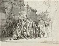 prince oleg at the gates of constantinople by karl pavlovich bryullov