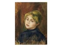 portrait de mlle. catulle mendès by pierre-auguste renoir