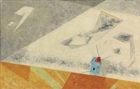 windmill by lyonel feininger