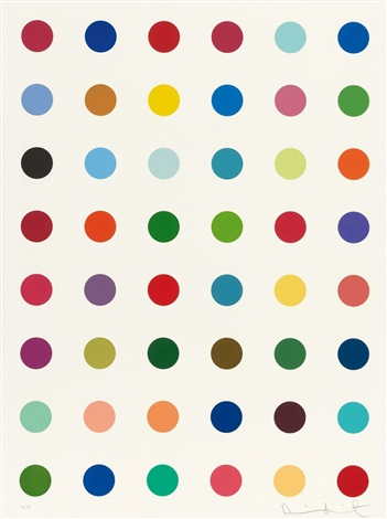 untitled from re object mythos by damien hirst