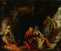 mythologische szene by william maw egley