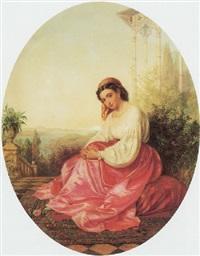 an oriental beauty by emanuel stöckler