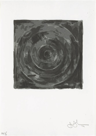 target from for meyer schapiro by jasper johns
