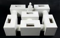 maquette pour une unité d'habitation by absalon