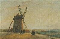 old mill, near st. pol by john edmund mace