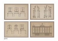 the gentleman and cabinet maker's director: thirty plates by thomas chippendale