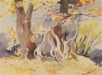 untitled (approaching fall no. 1) by mildred valley thornton