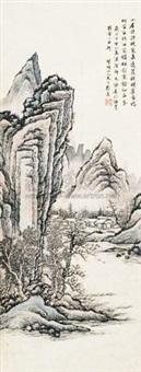 解元诗意图 by cai yuan