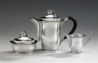 kaffeservis (set of 3) by eric rastrom
