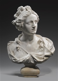 a bust of diana by giusto le court