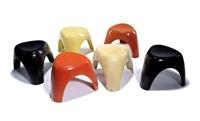 elephant stools (6) by sori yanagi